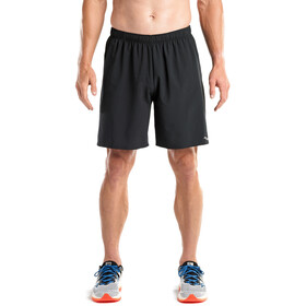 "saucony Sprint Woven 7"" Short Homme, black"